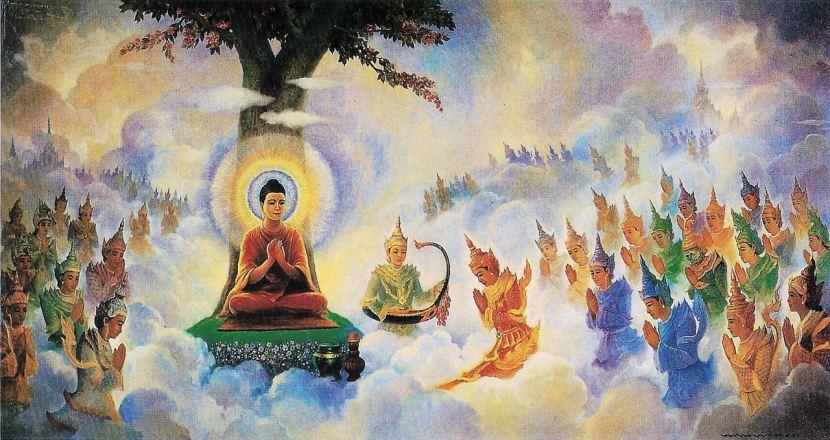 Buddhist relations with theGods