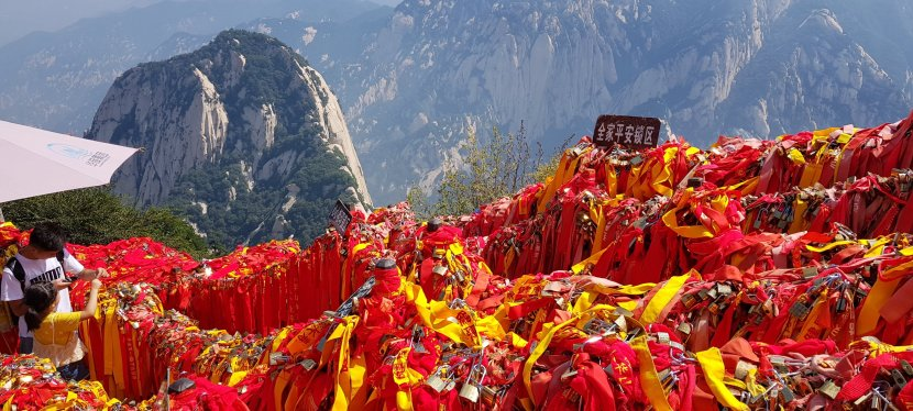 Mount Huashan, the holy mountain of Taoism