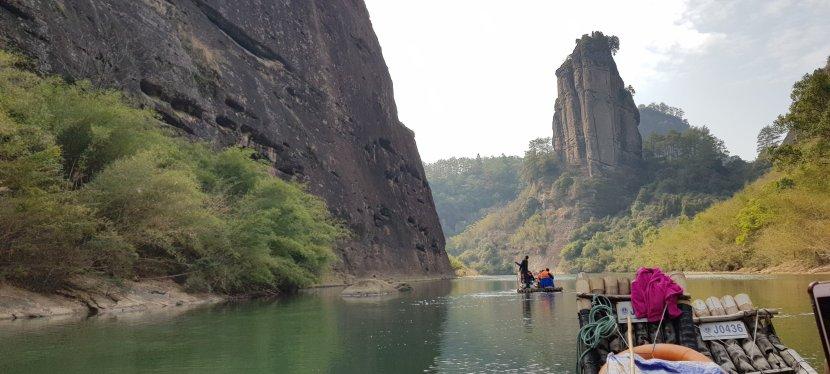 Rafting on MtWuyi